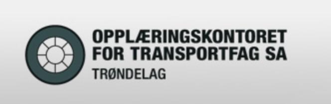 Opplæringskontoret for Transportfag SA, avd. logo