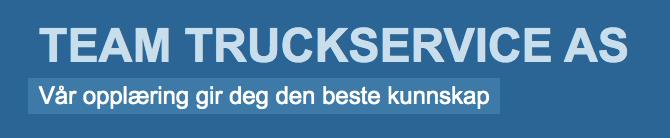 Team Truckservice AS logo