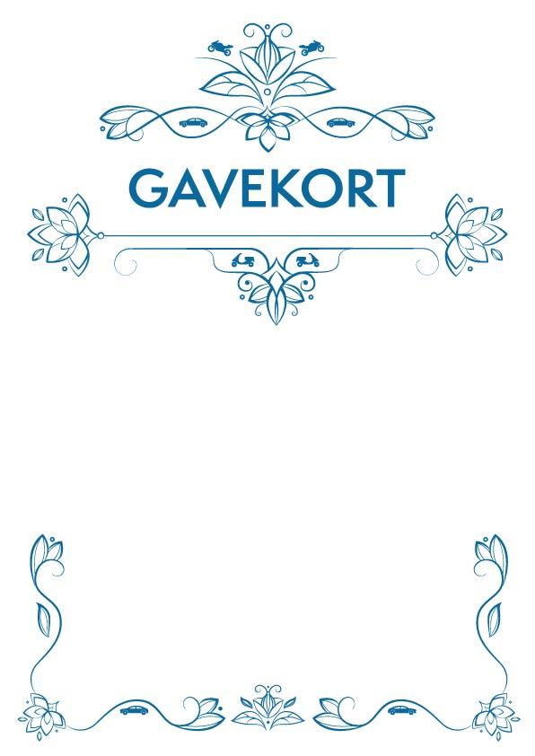 Gavekortmotiv #1