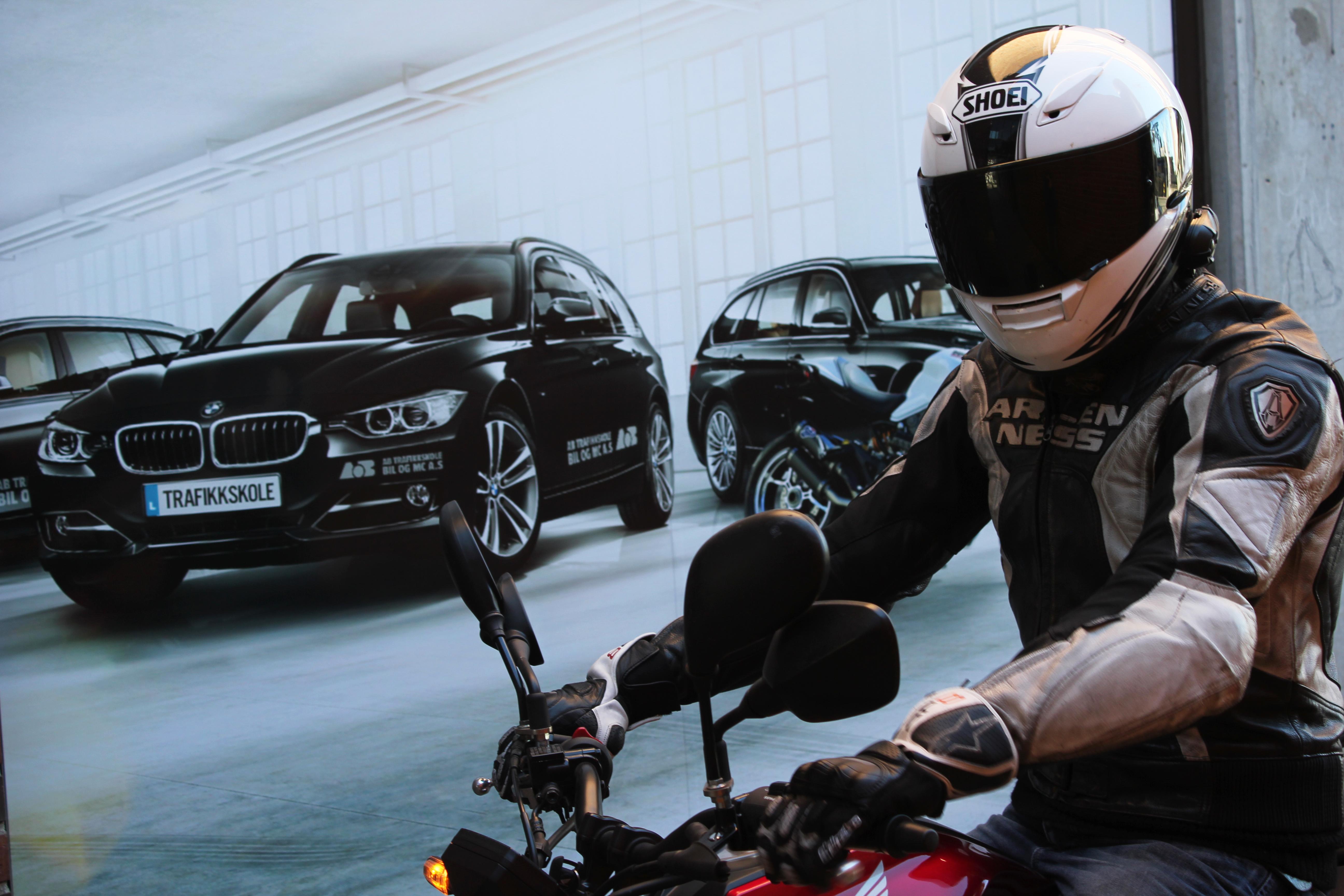 Motorsykkel førerkort! Meld deg på www.abtrafikkskole.no