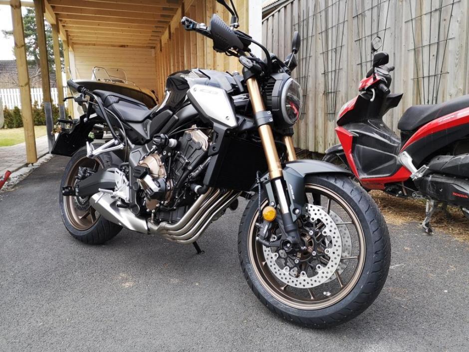 Ny skolesykkel, Honda CB650R