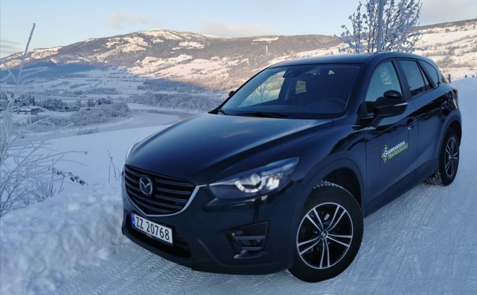 Vår Mazda CX5.