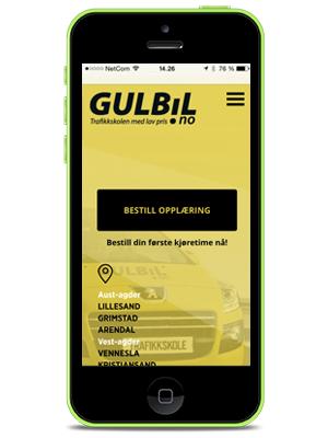 Bestill din kjøretime online hos GULBIL.no