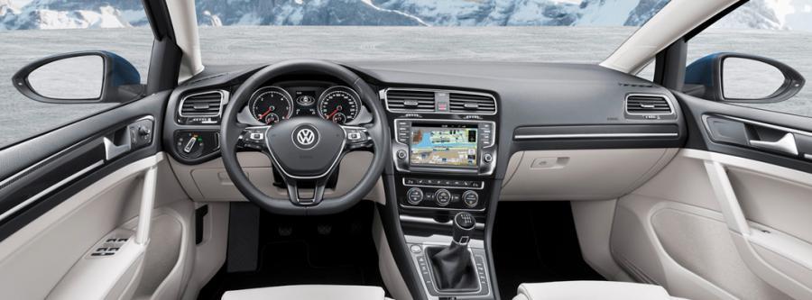 Cockpit på VW Touran