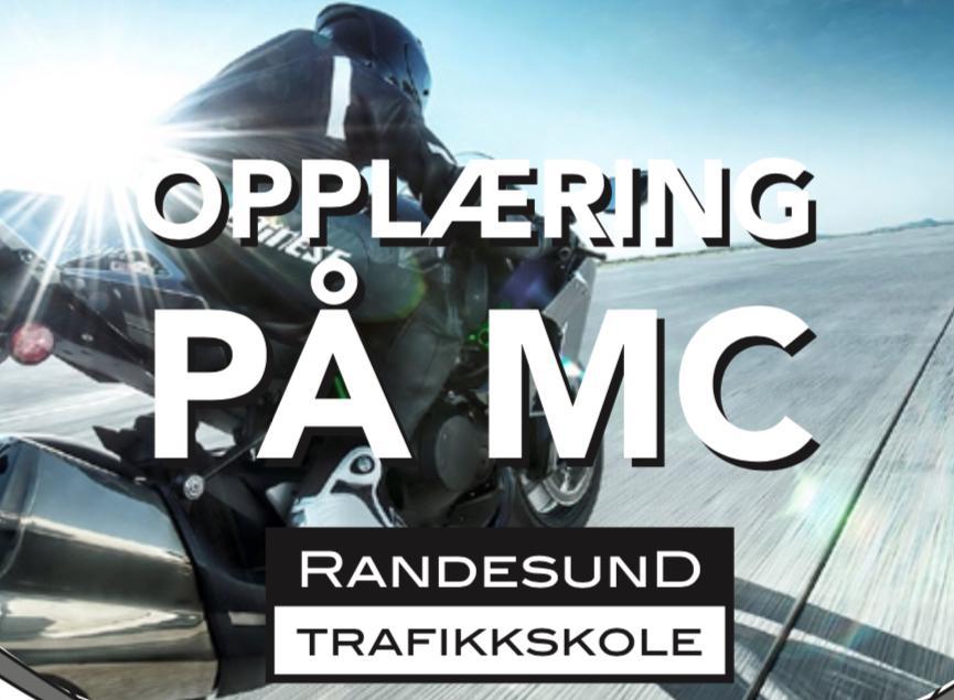 MC på Randesund Trafikkskole