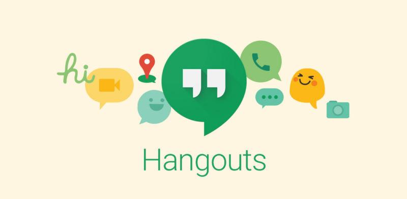 Me brukar Google Hangouts
