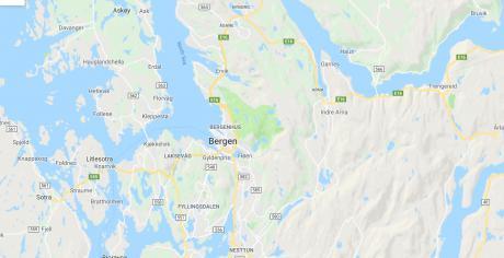 Oppmøtesteder i Bergen